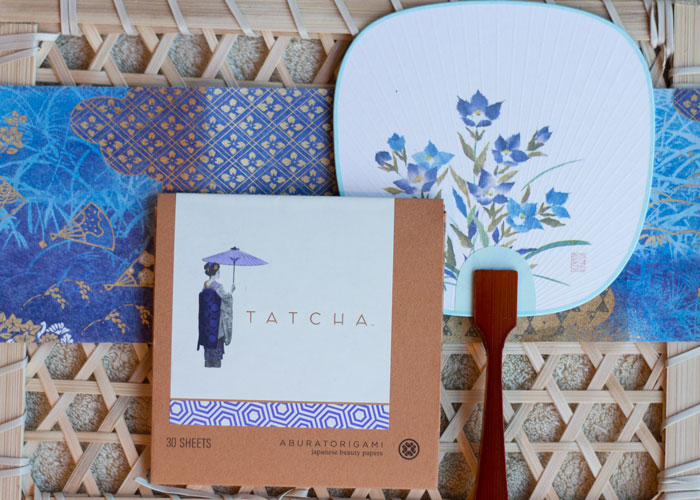 tatcha blotting papers