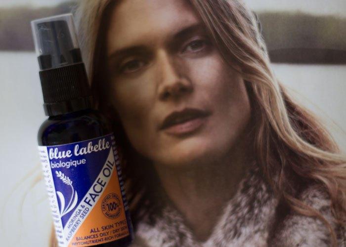 blue labelle moringa and raspberry face oil