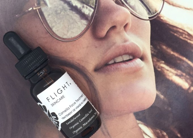 flight skincare camellia face treatment