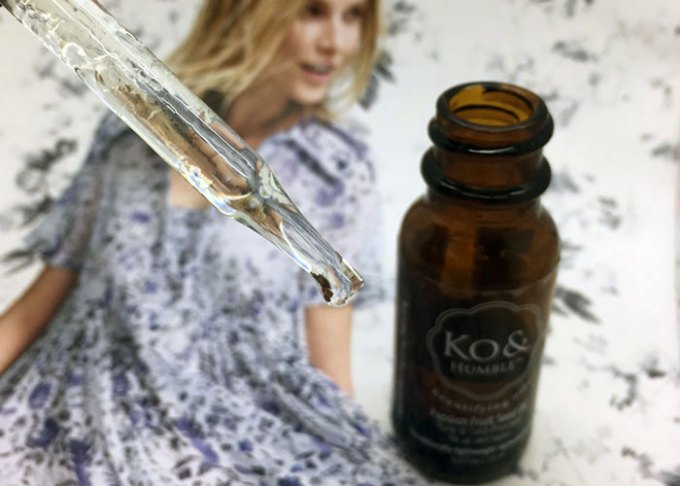 ko & humble passion fruit seed oil