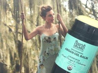 nourish organic replenishing argan oil balm