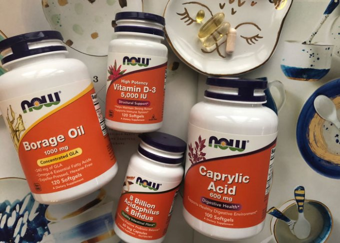 skincare supplements NOW foods