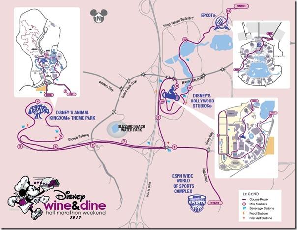 2012-Disney-Wine-and-Dine-Half-Marathon-Course-Maps