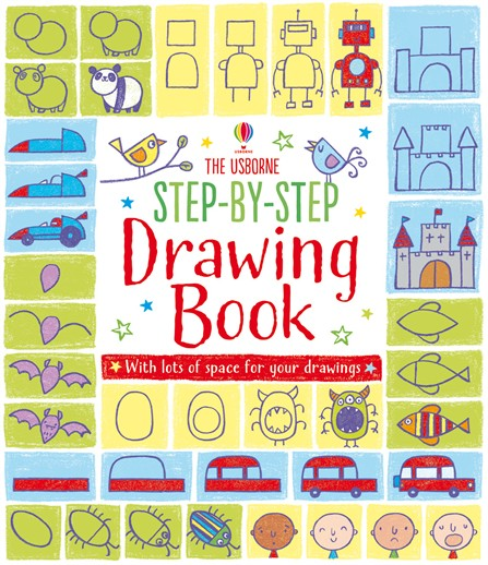 step-by-step-drawing-book