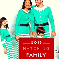family Christmas pajamas... 2015 edition!
