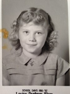 My mother, Gayle Lay Mourton, in 1957.