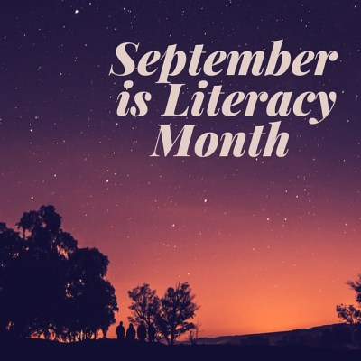 September is Literacy Month - Here's my booklist - kimberlymitchell.us