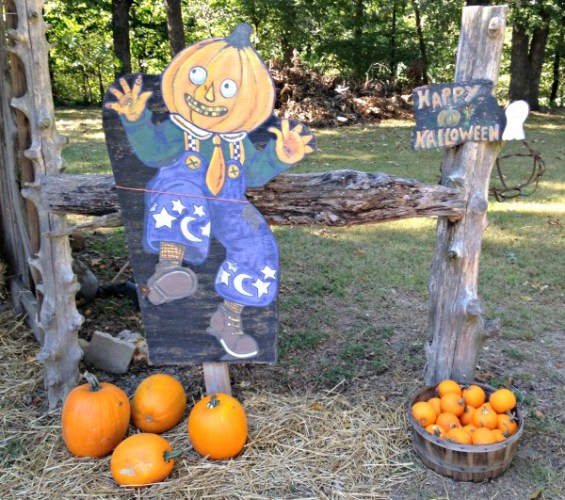 Pumpkin Head -October is Here - kimberlymitchell.us