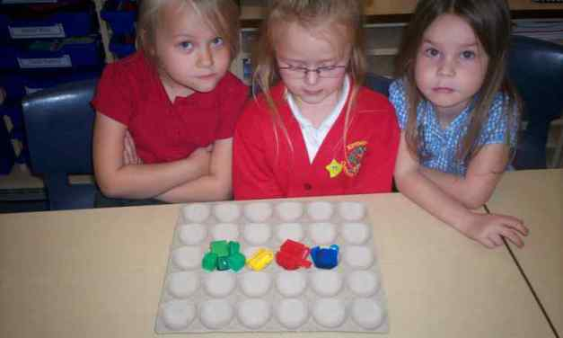 Numeracy in class 1