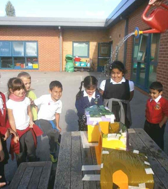 Class 2's topic this half term is buildings.