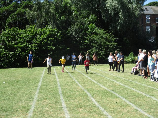 Sports Day…