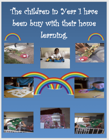 Home Learning in Y1