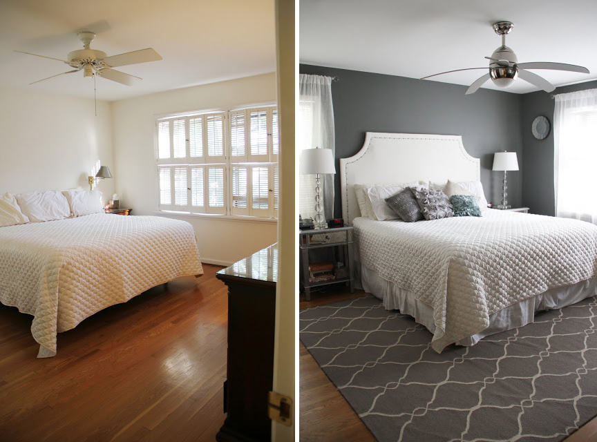 Area rugs instantly update and soundproof a room. They also divide rooms in open concept homes and tie in colour schemes.