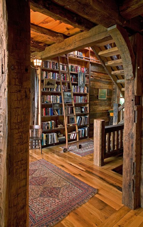 """Cottage country. """"The odd thing about people who had many books was how they always wanted more."""" -Patricia A. McKillip"""