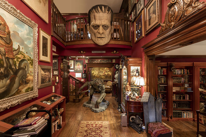 Guillermo Del Toro: at Home with Monsters at the Art Gallery of Ontario, to January 7th, $16-$25. Rare glimpse into the creative process of famed filmmaker