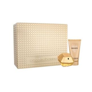 Paco Rabanne Lady Million Gift Set 50ml EDP with lotion