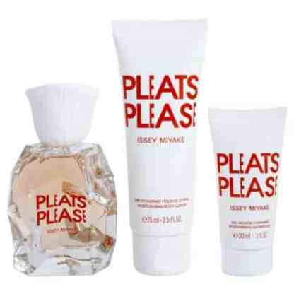 Issey Miyake Pleats Please Gift Set 50ml EDT Contents