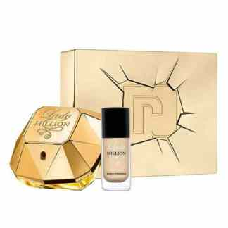 Lady Million Gift Set 50ml EDP Nail Polish