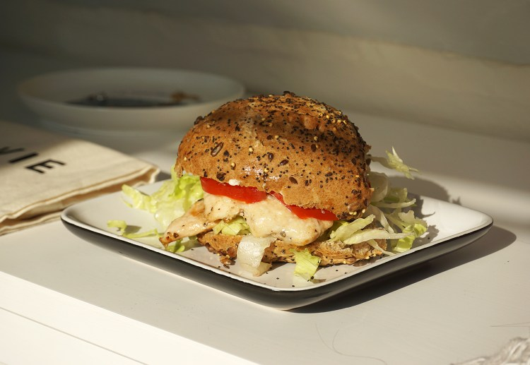 gluten free parmesan chicken burgers