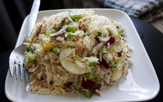 Easy Healthy Tuna Rice Salad
