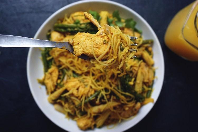 Gluten free singapore noodles