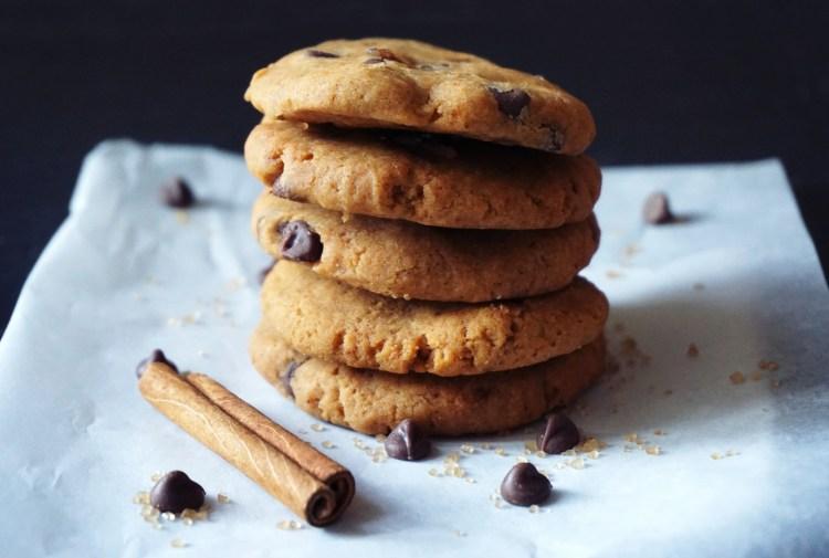 Gluten free dairy free vegan chewy sweet potato gingerbread cookies