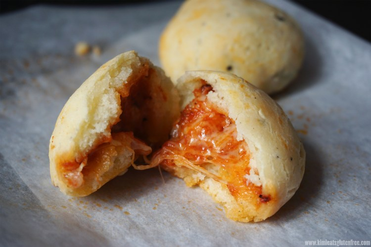 Easy gluten free pizza dough balls