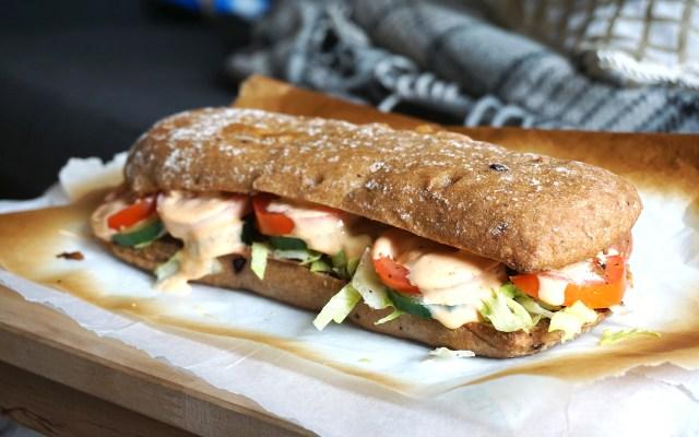 Homemade Gluten Free Subway Sandwich {Italian BMT}