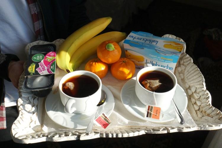 Gluten free Spar breakfast - gluten free Venice guide