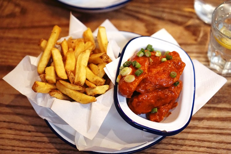 Where to Eat Gluten Free Chicken and Chips in London