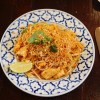 Gluten free pad thai from Cats Cafe Des Artistes | My Gluten Free Finsbury Park Guide | Stroud Green | North London