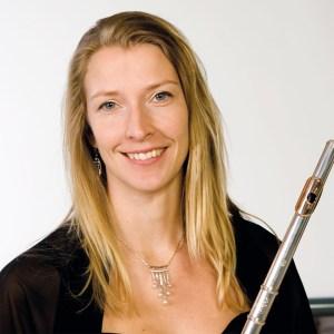 Flöjtisten Erica Nygård