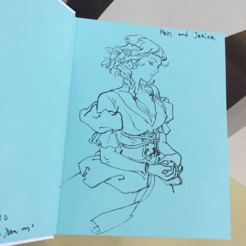 022 - Kim Jung Gi sketch dédicace