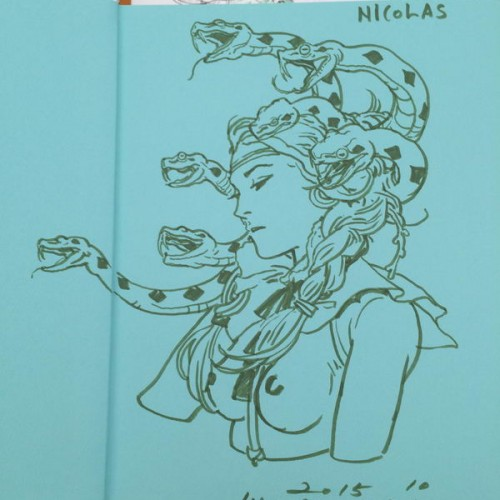 037 - Kim Jung Gi sketch dédicace