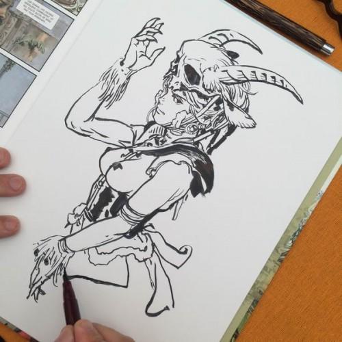 040 - Kim Jung Gi sketch dédicace