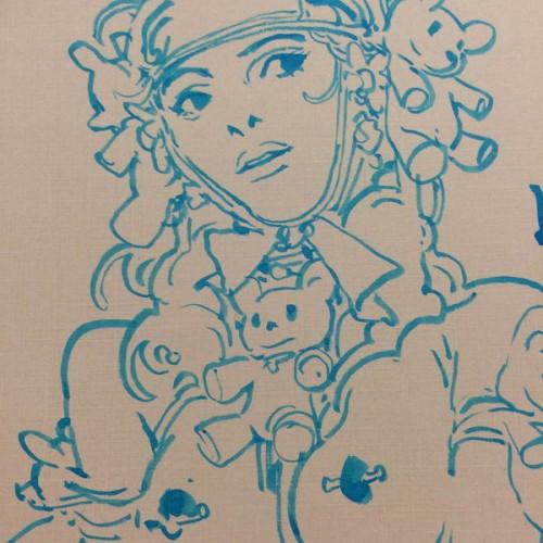 054 - Kim Jung Gi sketch dédicace