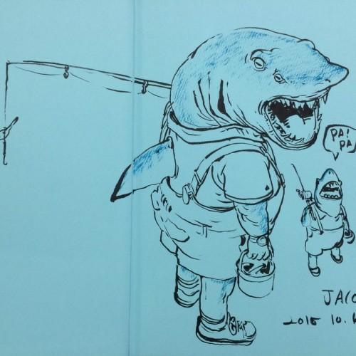 059 - Kim Jung Gi sketch dédicace