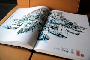 Kim Jung Gi sketchbook 2016 content 01
