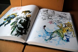 Kim Jung Gi sketchbook 2016 content 02