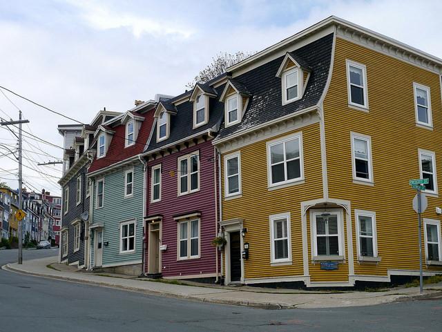 Jellybean Row - St. John's Newfoundland