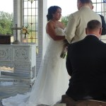 Photo of bride and broom