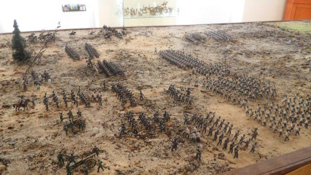 Makieta Bitwy pod Raszynem Muzeum Napoleońskie w Witaszycach