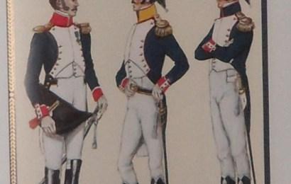 Oficerowie pułku 17 piechoty. Mój przodek był ubrany jak ten pierwszy po prawej