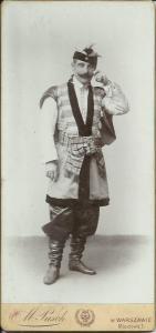 Zdjęcie mojego prapradziadka w polskim stroju szlacheckim koniec XIX wieku