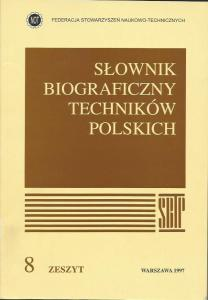 Okładka tomu 8 Słownika Biograficzny Techników Polskich