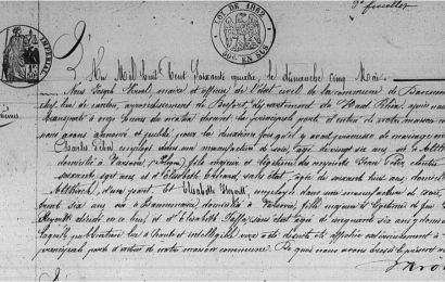 Tajemnica przodków – ślub Charlesa Gebera