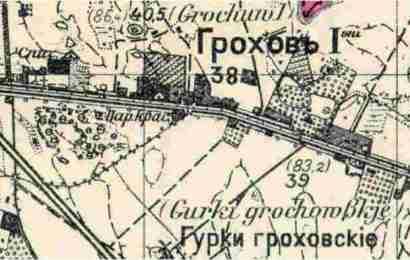 Grochów Mały i Wielki, I i II, a fabryka Geberów