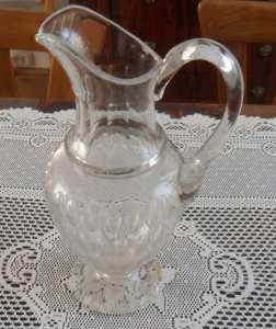 Babcina porcelana kryształowy dzban