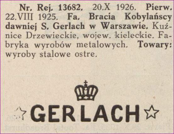 Bracia Kobylańscy dawniej S. Gerlach