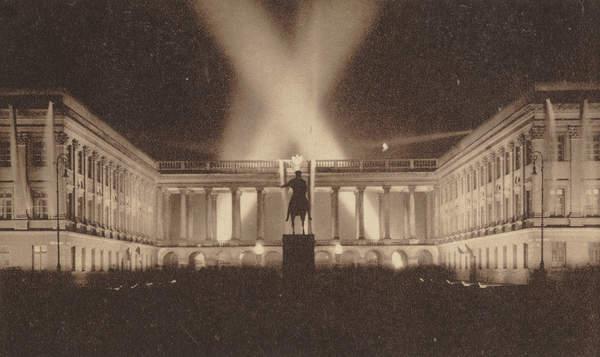 Architektura w genealogii - pałac Saski